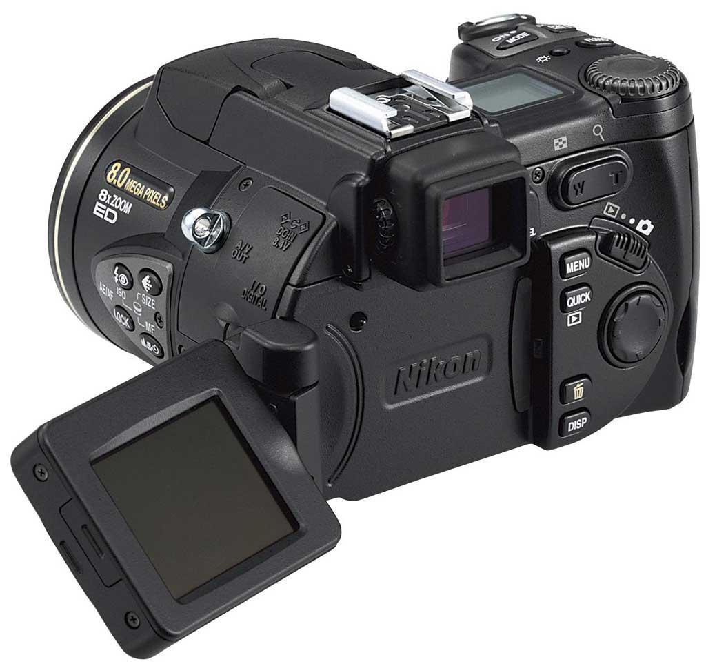 Nikon: Kompaktdigitalkamera mit 8 Megapixeln Auflösung