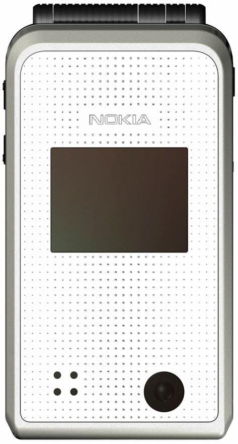 Edelstahl-Look: Nokias Klapp-Handy 6170 mit VGA-Kamera
