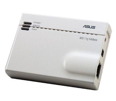 ASUS mit Mini-Access-Point, WLAN-Festplatte und WLAN-Karten