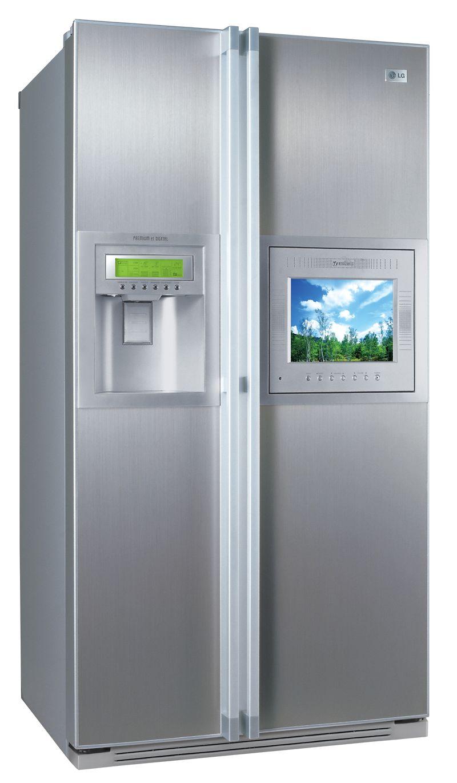 LG: Kühlschrank mit LCD-Fernseher auch für Europa - Screenshots