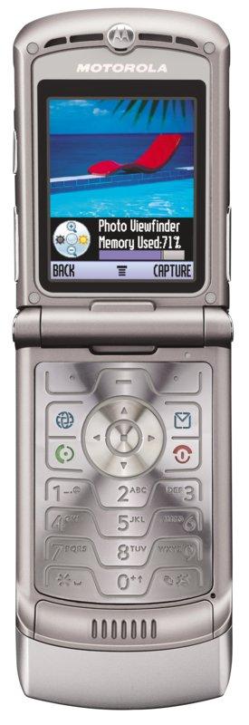 V3 Razr - Dünnes Klapp-Handy von Motorola (Update)