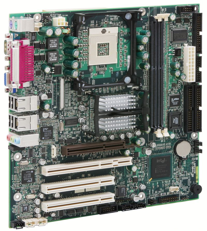 MicroATX-Mainboard unterstützt Pentium M Processor 745