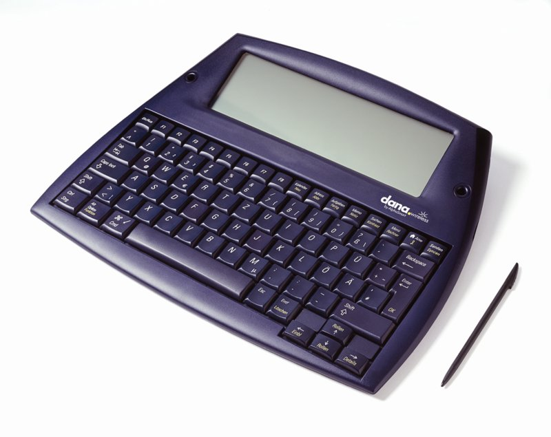 Test: PalmOS-Notebook Dana mit WLAN und langer Akkulaufzeit