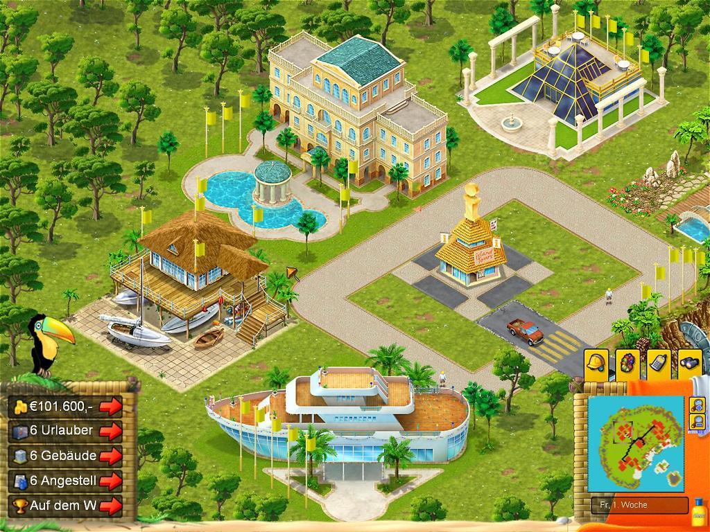 Spieletest: Holiday World - Tourismus-Management am PC