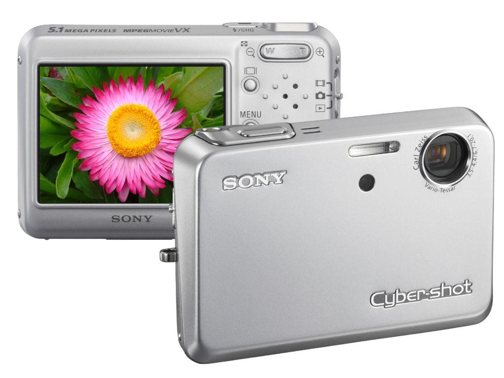 17 mm dünne Digitalkamera mit 5 Megapixeln und 3fach-Zoom