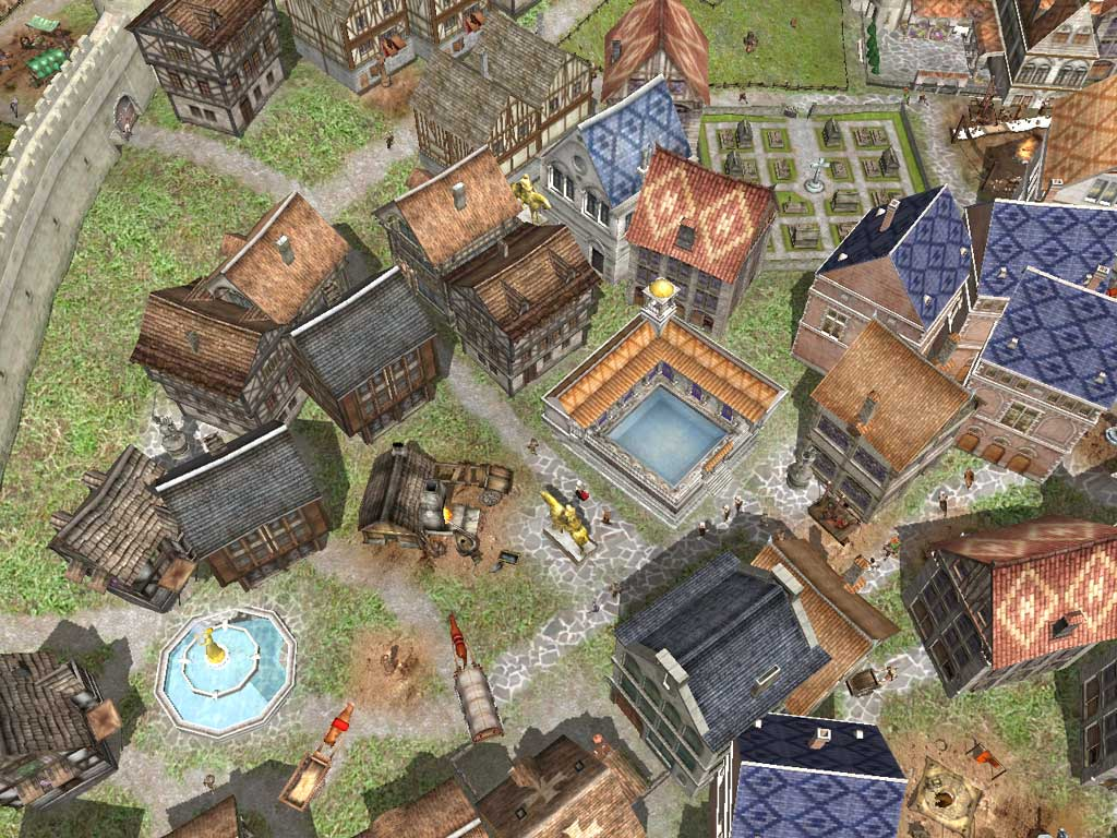 Spieletest Medieval Lords Sim City Im Mittelalter