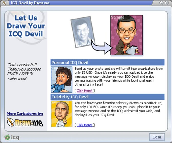 ICQ 4 Lite mit Video-Messaging-Funktion
