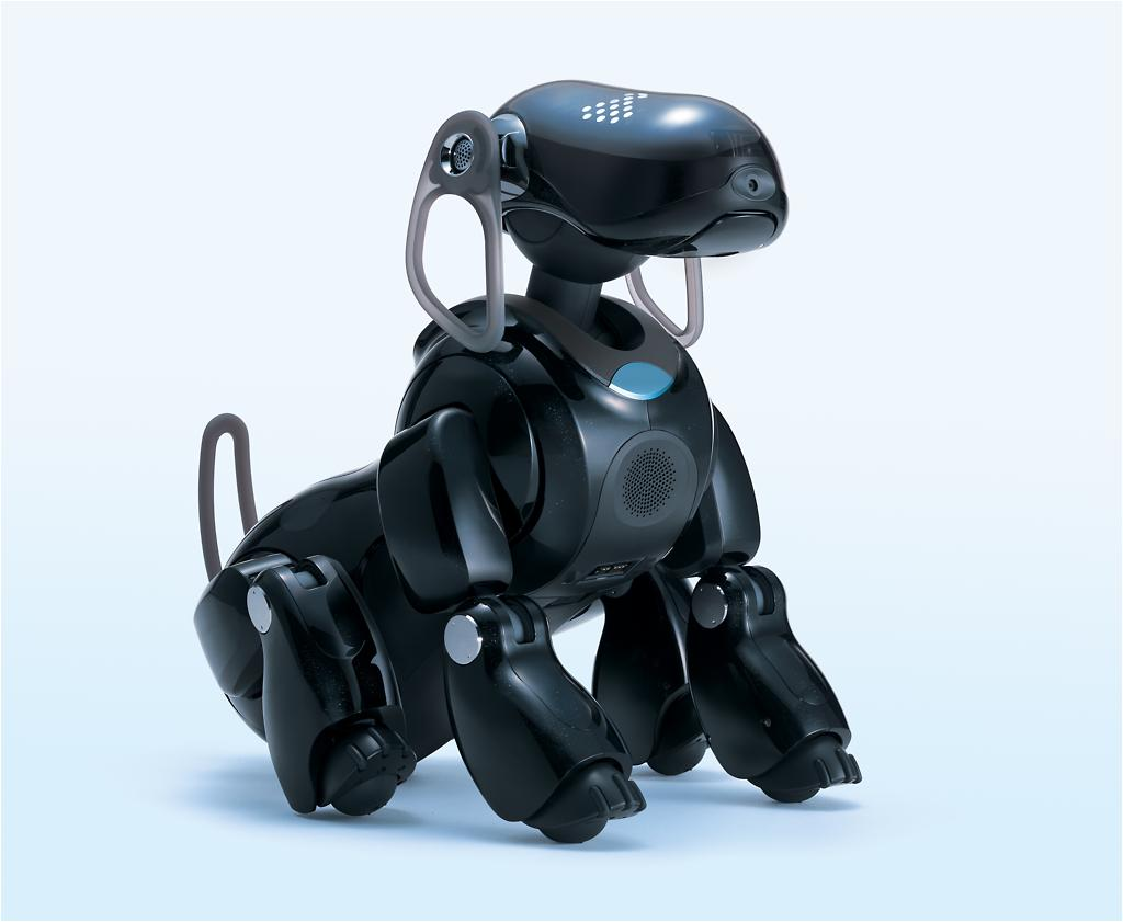 sonys roboter hund als pda und mp3 player update. Black Bedroom Furniture Sets. Home Design Ideas
