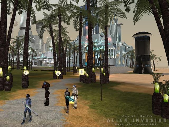 Anarchy Online - Online-Rollenspiel ein Jahr kostenlos