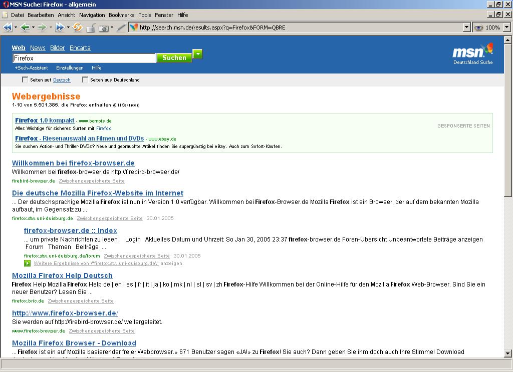 Microsoft schaltet Suchmaschine scharf