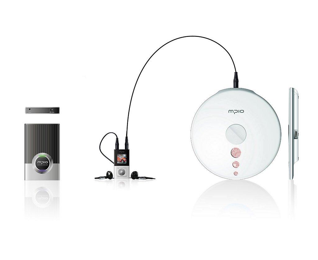 MPIO One: OLED-Flash-Player mit Festplatte und CD-ROM