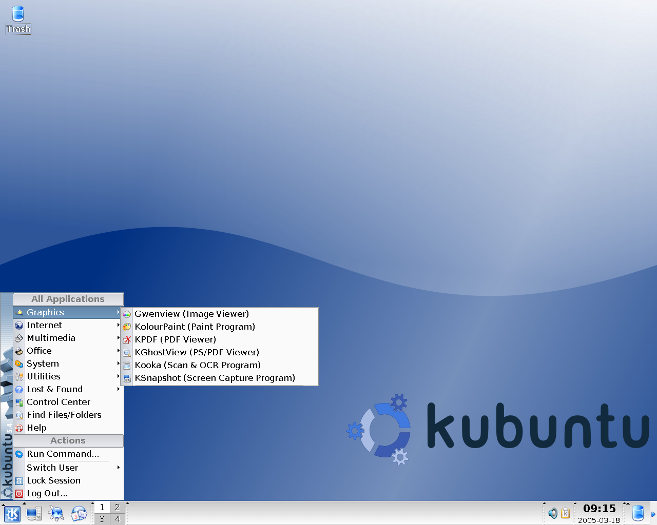 Hoary Hedgehog: Ubuntu und Kubuntu in Version 5.04 fertig