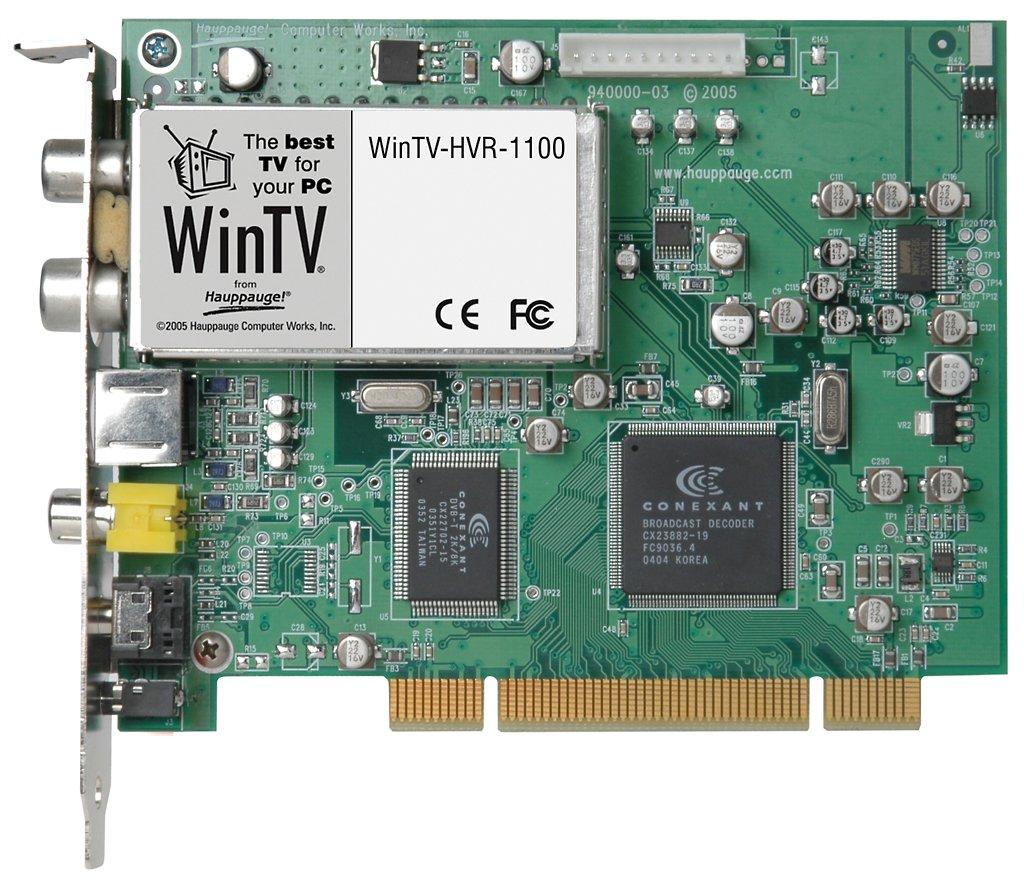 WinTV-HVR-1100 - Hybrid-Tuner für DVB-T und Analog-TV