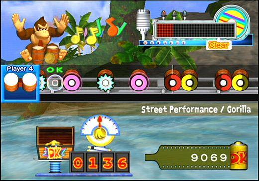 Spieletest: Donkey Konga 2 - Das Trommeln geht weiter