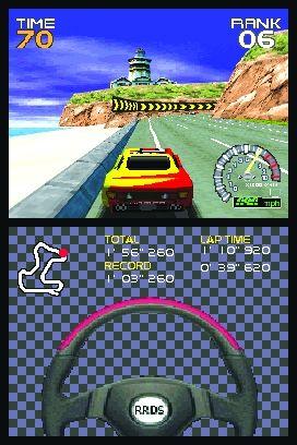 Spieletest: Ridge Racer DS - Auto fahren mit Touch-Pad - Ridge Racer DS