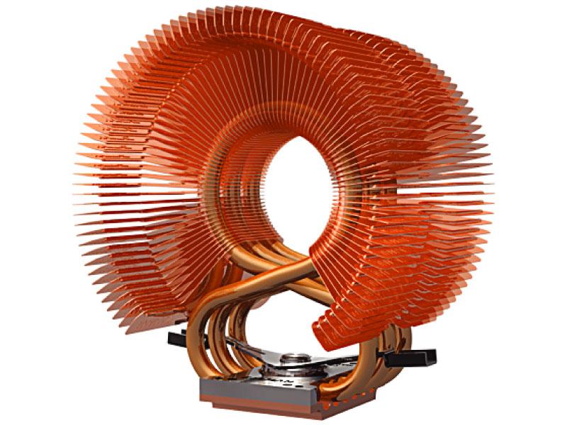 Zalman: Riesen-CPU-Kühler mit 92-mm-Lüfter und 3 Heatpipes