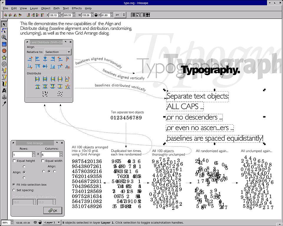 Inkscape: Freies SVG-Zeichenprogramm mit neuen Funktionen