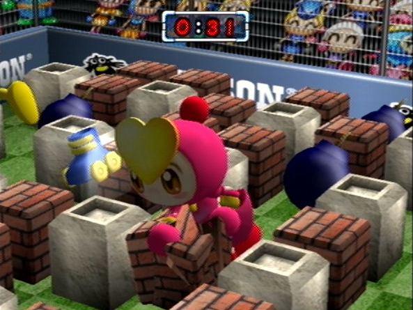 Spieletest: Bomberman Hardball - Sport und Bomben im Paket