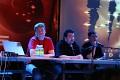 CCP-Team im Gespräch mit Fans: Hilmar V. Petursson (CEO), Nathan 'Oveur' Richardsson (Senior Producer) und Húni Hinrichsen (Game-Designer).
