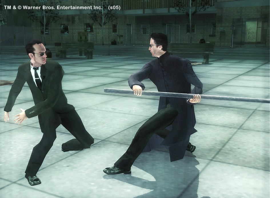 Spieletest: Matrix - The Path Of Neo