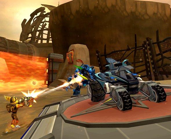 Spieletest: Ratchet Gladiator - Unkomplizierte PS2-Action