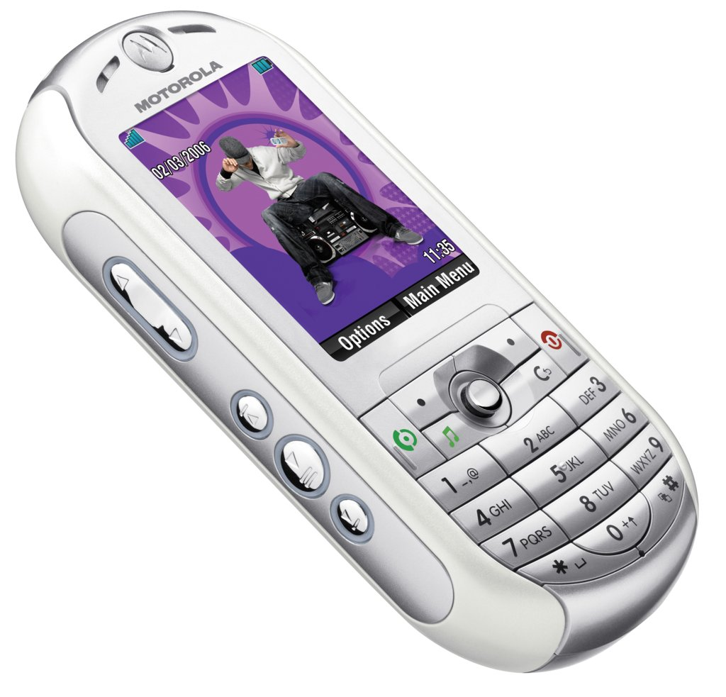 Motorola ROKR E2 - Musik-Handy auf Linux-Basis