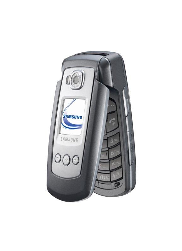 Samsung SGH-E770 - Musik-Handy mit Speicherkartensteckplatz