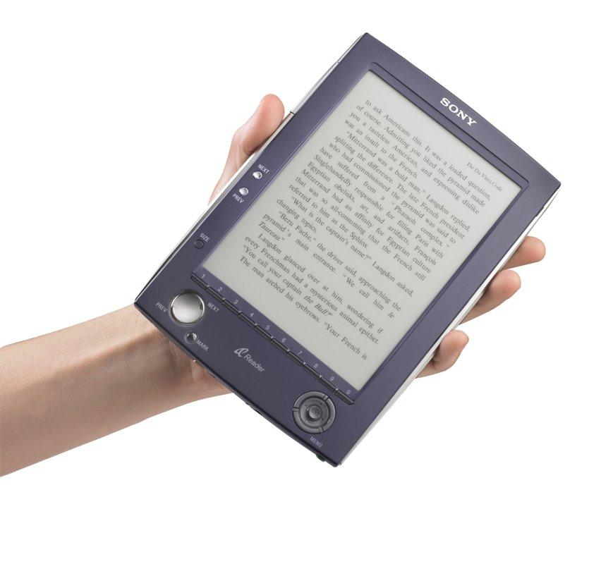 Sonys E-Book-Reader mit elektronischer Tinte ist da