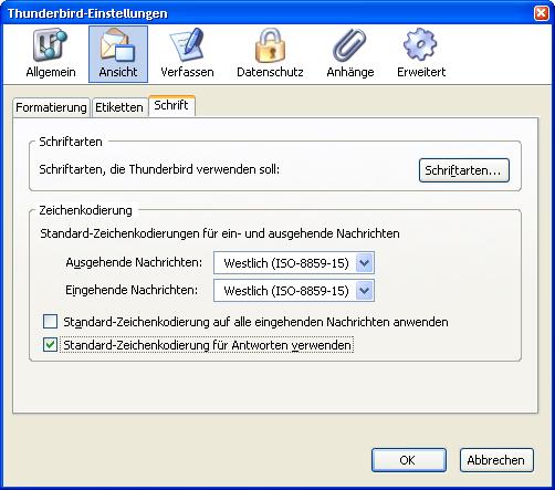Thunderbird 1.5 - Final-Version ist da