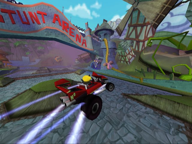 Spieletest: Crash Tag Team Racing - Jump&Race