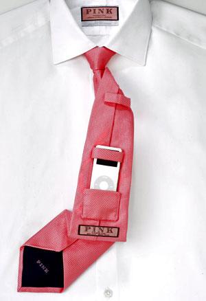 Anzug-Tuning - Krawatte mit iPod-Fach