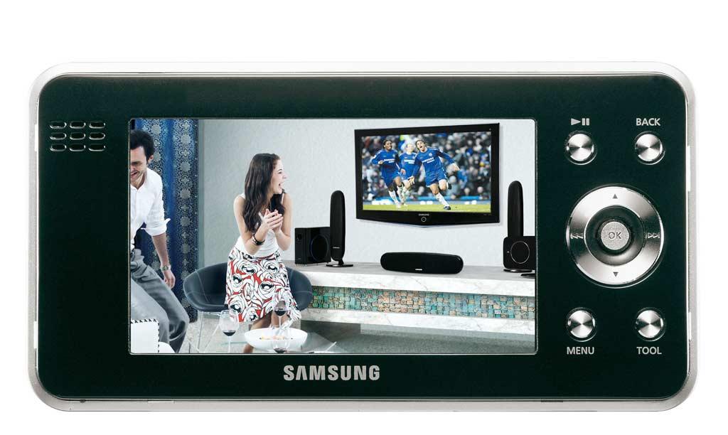 Samsung: Mobiler Videospieler mit 4-Zoll-Display