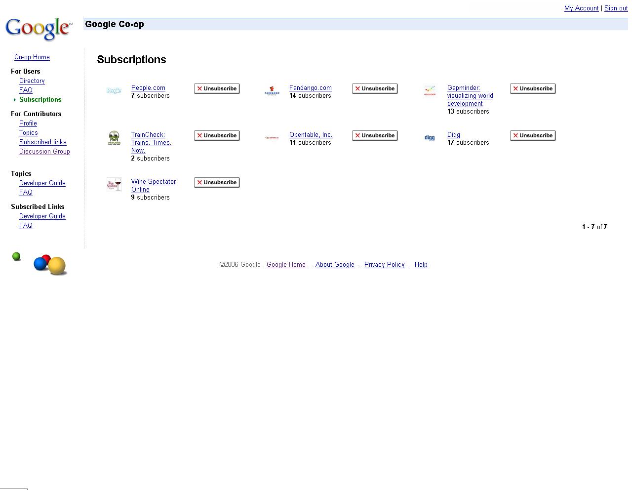 Google-Produktfeuerwerk gezündet