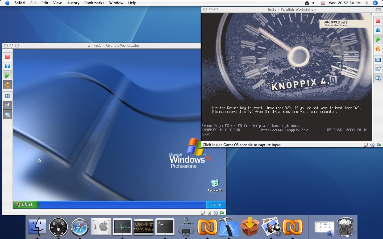 Windows und MacOS X auf Intel-Macs im Duett (Update)
