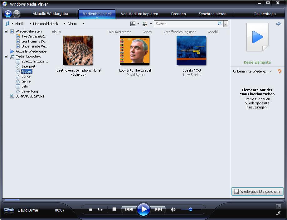 Windows Media Player 11 als Download