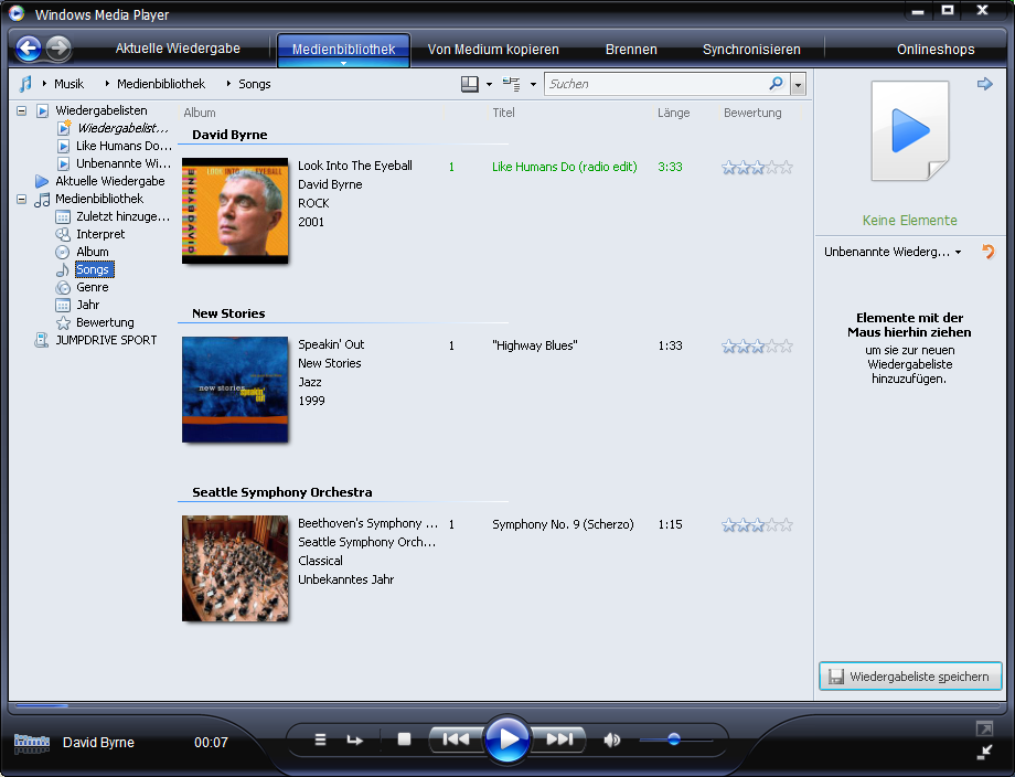 Windows Media Player 11 als Download