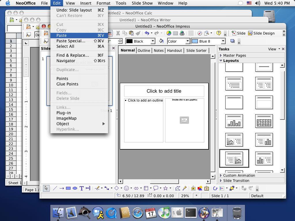 NeoOffice 2.0 für Intel-Plattform veröffentlicht