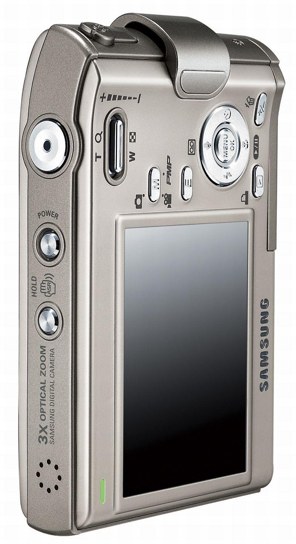 Samsung-Digitalkamera im Titangehäuse