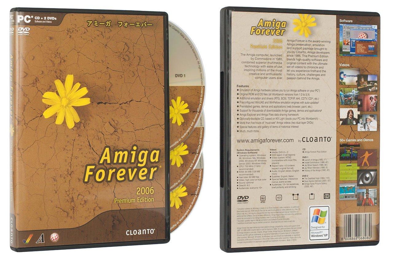 Amiga Forever 2006 - Emulatorpaket in neuer Version