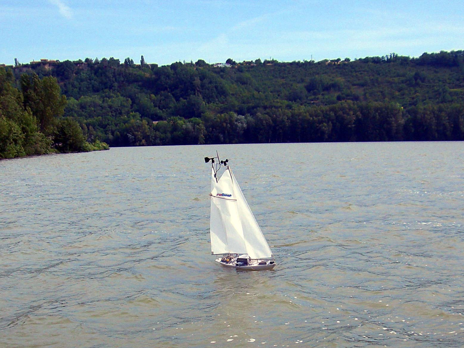 Erster europäischer Roboter-Segelwettbewerb entschieden