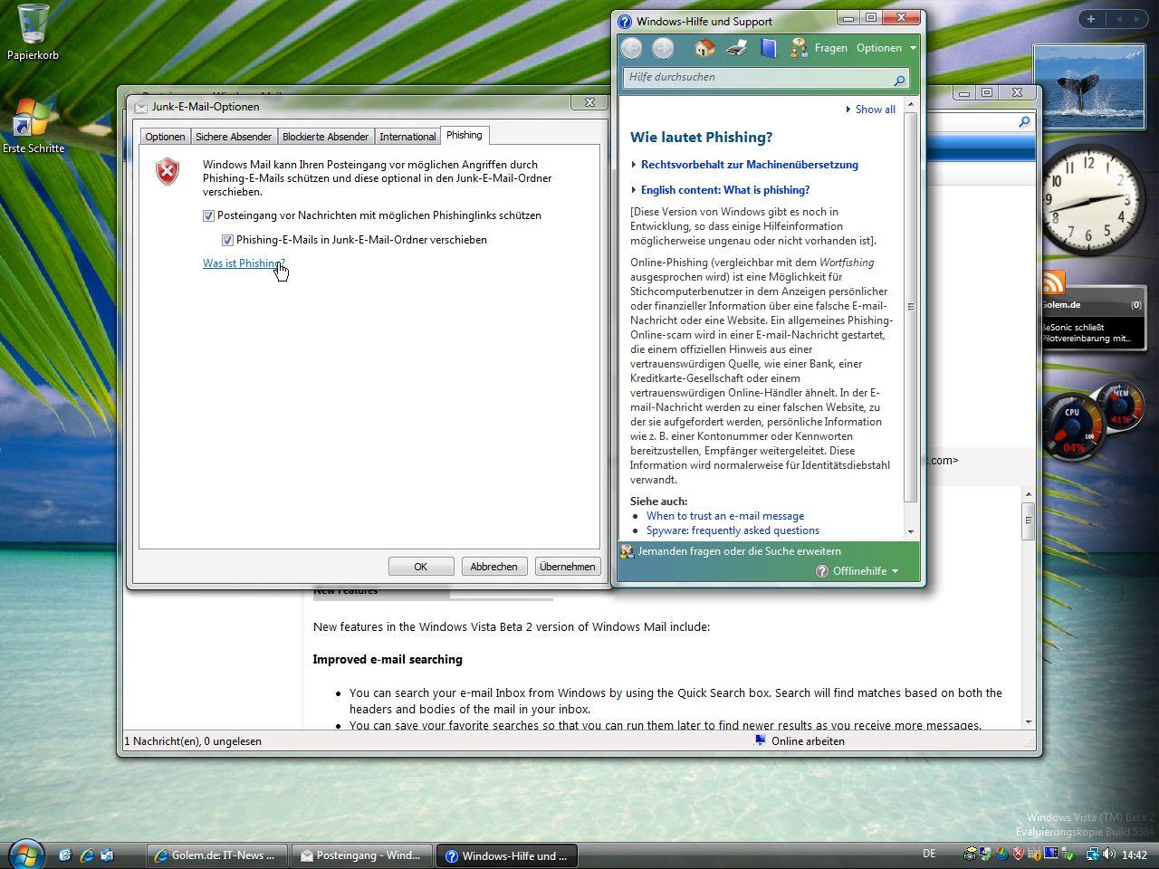 Windows Vista: Release Candidate 1 im Anmarsch