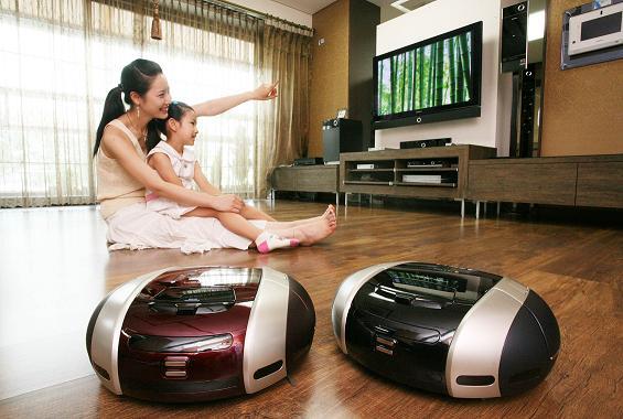 haushaltshilfe zwei roboter staubsauger von samsung screenshots. Black Bedroom Furniture Sets. Home Design Ideas