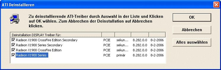 Bug in ATIs CrossFire-Treibern