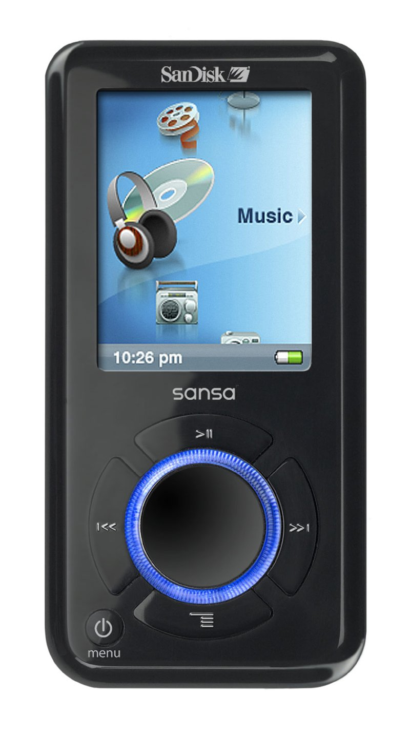 SanDisk bringt MP3-Player mit 8 GByte Flash-Speicher