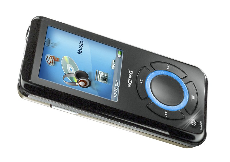 SanDisk bringt MP3-Player mit 8 GByte Flash-Speicher