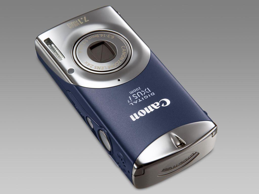 Canons Kleinste mit 2,4fach-Zoom jetzt mit 7 Megapixeln