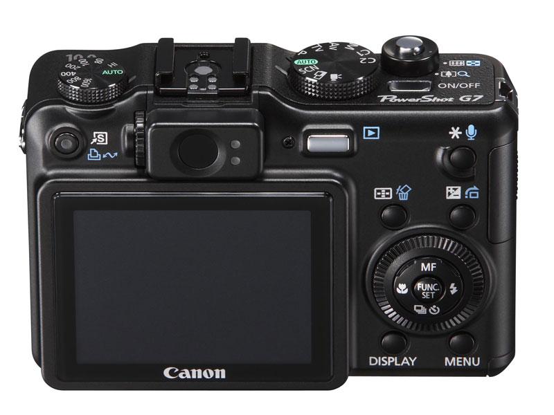 Canon PowerShot G7: 6fach-Zoom mit Bildstabilisator