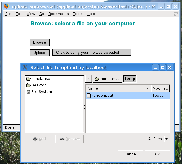 Flash 9 für Linux nutzt GTK