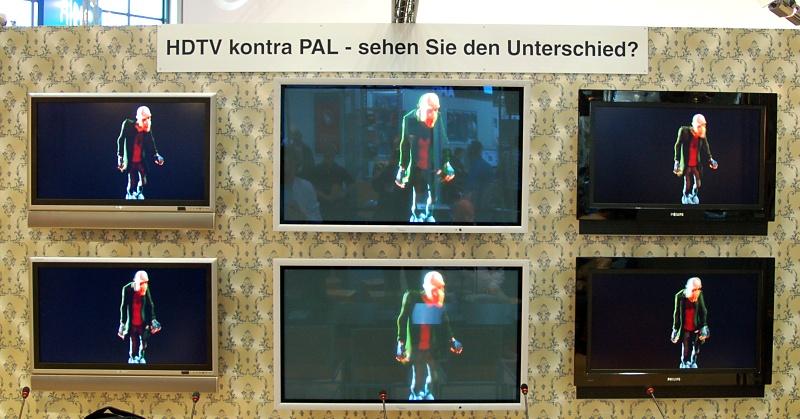 IFA-Selbstversuch: Ist HDTV besser als PAL?