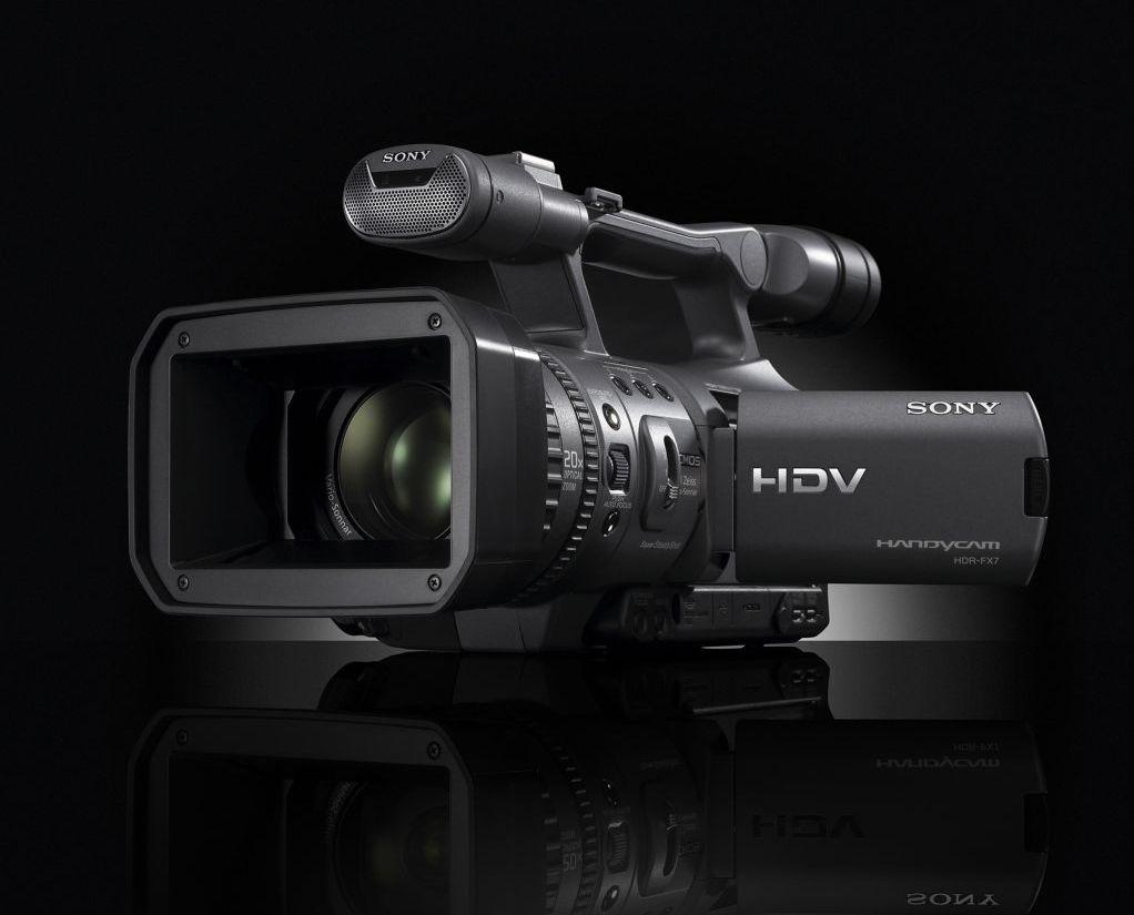 sony hdr fx7 kleine 1080i videokamera mit 20fach zoom. Black Bedroom Furniture Sets. Home Design Ideas
